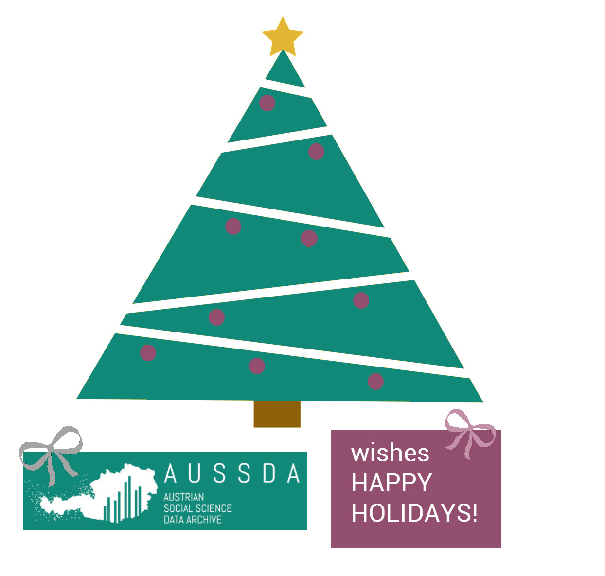 Christmas greetings from AUSSDA